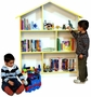 Venture Horizon Doll House/Bookcase in White