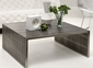 Zuo Novel Square Coffee Table in Stainless Steel