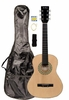 """36"""" Inch 3/4 Scale Size Natural Student Beginner Acoustic Guitar with Carrying Case & Accessories & DirectlyCheap(TM) Translucent Blue Medium Guitar Pick (A-PRO Series)"""