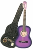 "38"" Acoustic Guitar Starter Package PURPLE Guitar, Gig Bag, Strap, Pick & DirectlyCheap(TM) Translucent Blue Medium Guitar Pick (LPL-AG38)"