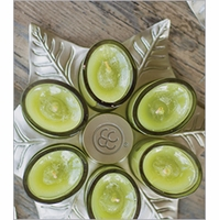 NEW! - Glass Votives Colonial Candle