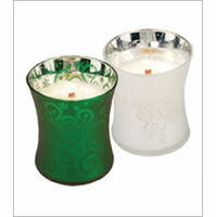 Medium Dancing Glass WoodWick Candle - Gift With Purchase