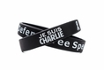 Je Suis Charlie - Defend Free Speech Rubber Wristband - Adult 8""