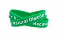Natural Disaster Readiness - Relief - Recovery green - Adult 8""