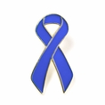 Special Blue Ribbon Lapel Pin