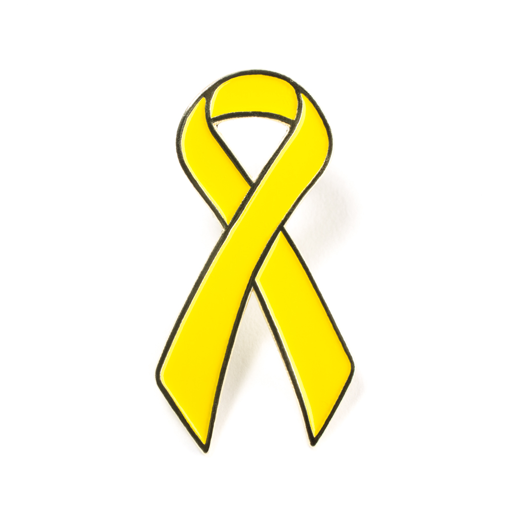 yellow ribbon coloring pages - photo #26