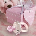 Choice Crystal Pink Pacifier Favors