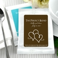 Classic White Personalized Coffee Favors - Silhouette Collection