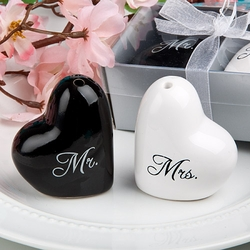 Mr. and Mrs. Salt and Pepper Shaker Favors