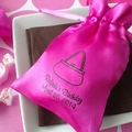 Personalized Satin Favor Bags For Her