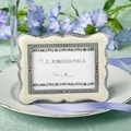 Victorian Design Place Card Frame Favor