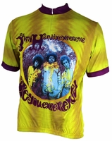 Jimi Hendrix Are You Experienced Cycling Jersey Free Shipping