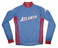Atlanta Dream Away Long Sleeve Cycling Jersey