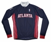 Atlanta Hawks  Away Long Sleeve Cycling Jersey Free Shipping