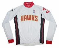Atlanta Hawks Long Sleeve Cycling Jersey Free Shipping
