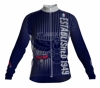 Atlanta Hawks Retro Long Sleeve Cycling Jersey