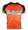 Baltimore Orange & Black Men's Cycling Jersey