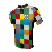 Blocks Men's Cycling Jersey