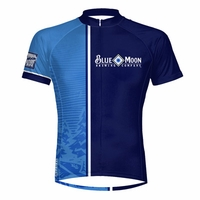 Blue Moon Night Cycling Jersey Free Shipping