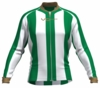Boston Celtics Striped Cycling Jersey