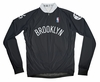 Brooklyn Nets Away Long Sleeve Cycling Jersey Free Shipping