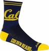 Cal Berkeley Cycling Socks