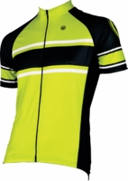 Canari Como Killer Yellow Cycling Jersey
