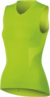 Castelli Dolce sleeveless Women's Cycling Jersey Acid Green