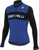 Castelli Fausto Wool Cycling Jersey - Royal/Black
