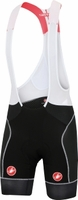 Castelli Free Aero Race Bibshort - Black/White Stitching