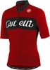 Castelli Gino Wool SS Cycling Jersey - Red
