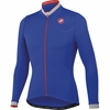Castelli GPM Long Sleeve Jersey - Deep Blue