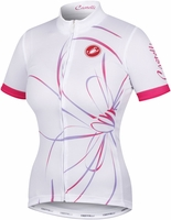 Castelli Luce White Women's Cycling Jersey Free Shipping