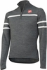 Castelli Pampeago Wool Cycling Jersey - Anthracite