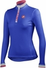 Castelli Women's Perla Winter Jersey - Electric Blue