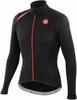 Castelli Puro Black Long Sleeve Cycling Jersey