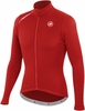 Castelli Puro Red Long Sleeve Cycling Jersey