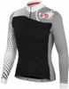 Castelli Women's Sfida FZ cycling Jersey - Black/White/Grey