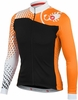 Castelli Women's Sfida FZ Cycling Jersey - Black/White/Orange