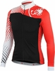 Castelli Women's Sfida FZ Cycling Jersey - Black/White/Red
