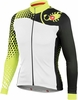Castelli Women's Sfida FZ Cycling Jersey - White/Yellow/Black