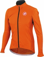Castelli Velo Orange Cycling Jacket
