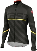 Castelli Vertigo Anthracite Long Sleeve Cycling Jersey