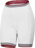 Castelli Women's Perla White Cycling Shorts Free Shipping