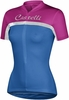 Castelli Women's Promessa Cycling Jersey Blue/White/Pink