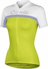 Castelli Women's Promessa Cycling Jersey Green/Purple/White