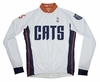 Charlotte Bobcats Long Sleeve Cycling Jersey Free Shipping