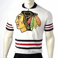 Chicago Blackhawks Cycling Jersey Free Shipping