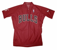 Chicago Bulls Away Cycling Jersey