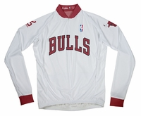 Chicago Bulls Long Sleeve Cycling Jersey Free Shipping
